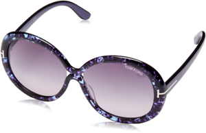 24f8e894f5b Image is loading Authentic-TOM-FORD-Gisella-388-83W-Sunglasses-Violet-