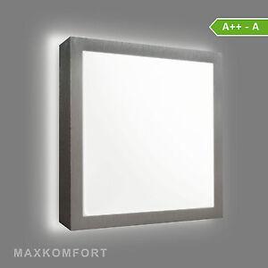 led deckenleuchte wandleuchte wandlampe eckig tofir 16w neutralwei ebay. Black Bedroom Furniture Sets. Home Design Ideas