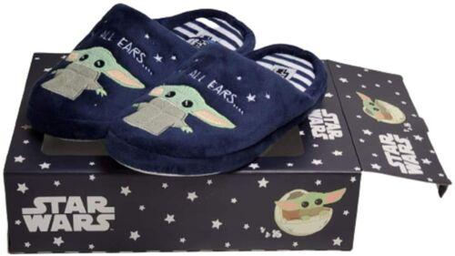 Star Wars Baby Yoda Cosy Pantoufles dans une boîte cadeau femme SOFT MULES Primark