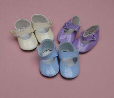 1 paire chaussure parme 4cm pour poupée convient aux tidoo calin de corolle 30cm