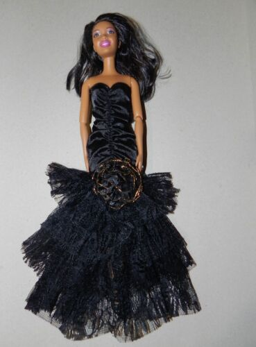 ROBE DRESS OUTFIT DOLL BARBIE MATTEL BJD VETEMENTS HABITS SOIREE