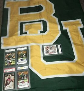 hot sale online 6c4ff 05d0a Details about Baylor Bears Robert Griffin III RG3 Rookie Auto Cards (3) RC  Banner Flag Lot