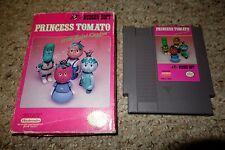 Princess Tomato in the Salad Kingdom (Nintendo NES, 1991) with Box FAIR
