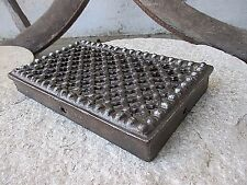 Architectural Salvage Antique Iron Door Guard Old Peephole Peep Hole Speakeasy