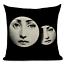 thumbnail 5 - Fornasetti Style Pillow Case Cover Sofa Home Textile Vintage Cushion Linen Decor