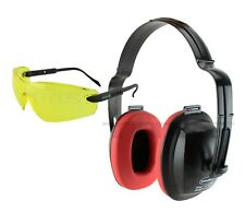 Titus Hearing Protection Earmuffs Noise Reduction Amp Shooting Glasses Range Gear