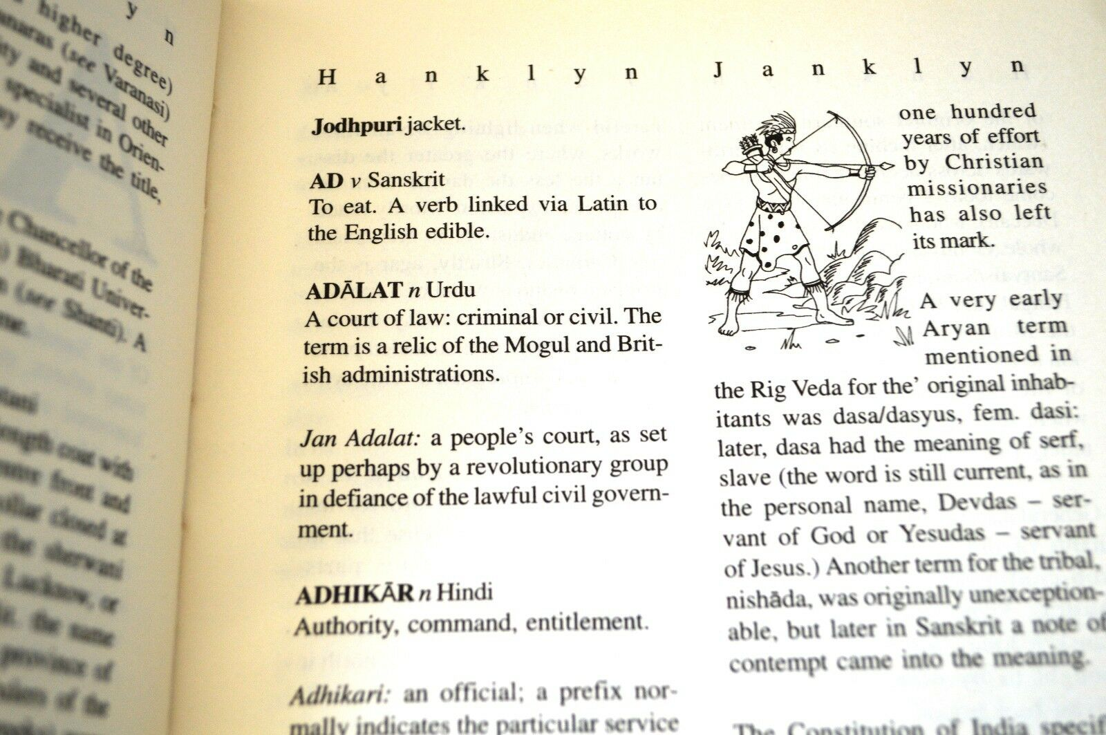 Hanklyn-Janklin : A Rumble-Tumble Guide to Some Words, Customs and Quiddities  Indian and Indo-British by Nigel B. Hankin (2003, Paperback)   eBay