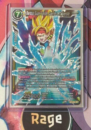 Guerrier de l/'adversité BT3-084 DRAGON BALL CARD GAME Sr Bardock Super Saiyan