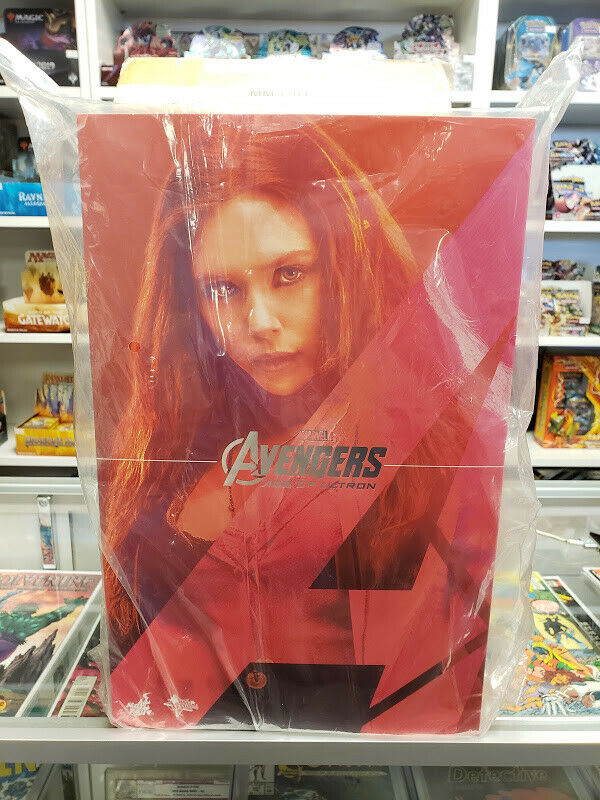 Hot Toys Avengers Age of Ultron 1 6 SCARLET WITCH Marvel Movie MMS301 New Sealed