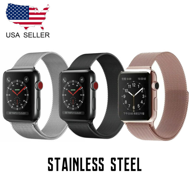 Secbolt Bling Bands For Apple Watch Band 38mm Luxury Stainless Steel Metal Sport For Sale Online Ebay