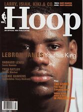 2005 NBA Hoop Official Basketball Magazine Lebron James Youth Is King Rare!!