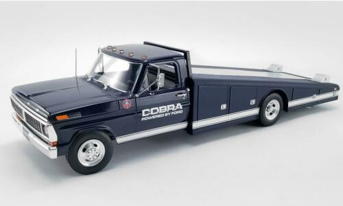 New Acme 1:18 1970 Ford F-350 Ramp Truck Shelby Cobra A1801405
