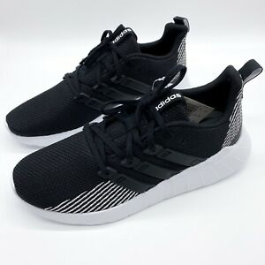 New-Adidas-Men-039-s-Questar-Flow-Shoes-Size-10-Black-White-Running-Sneakers