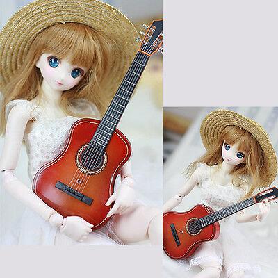 BJD Guitar Mini country Musical Instrument Dollfie AOD DOD SOOM MID LUTS DZ gift