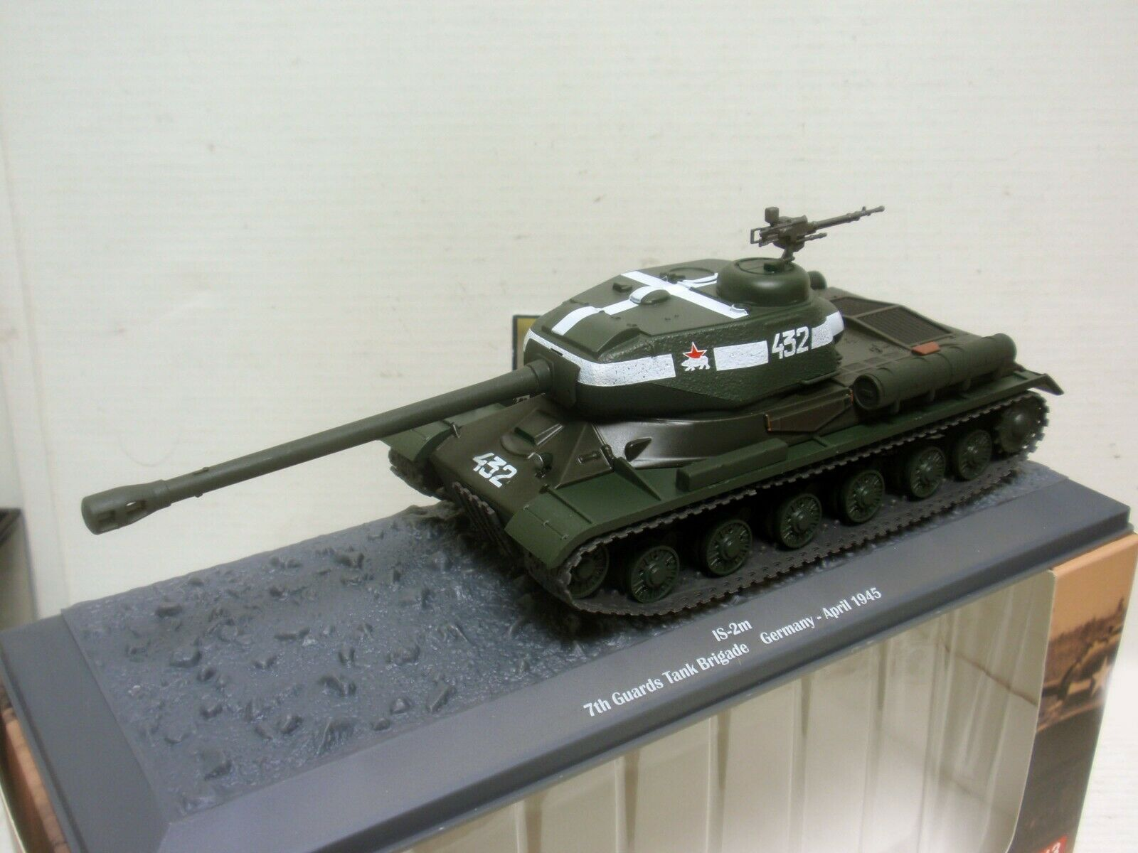 TANQUE TANK IS-2m 7th GUARDS BRIGADE GERMANY APRIL 1945 1 43 ALTAYA
