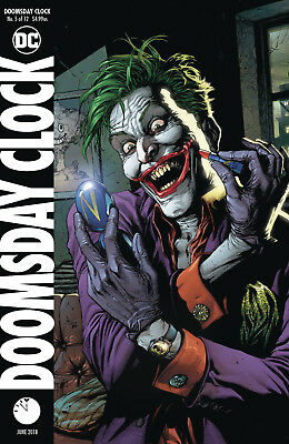 Doomsday Clock 5 Of 12 Gary Frank Variant Dc Comics Rebirth