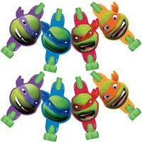 Teenage Mutant Ninja Turtles Cartoon Blowouts (8) Birthday Party Supplies