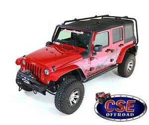 Sherpa-Roof-Rack-for-Jeep-Wrangler-Unlimited-JK-4Dr-07-18-11703-02-Rugged-Ridge