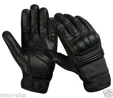DUPONT KEVLAR Tactical Hard Knuckle Gloves Goat Skin Digital Leather- 3 COLORS