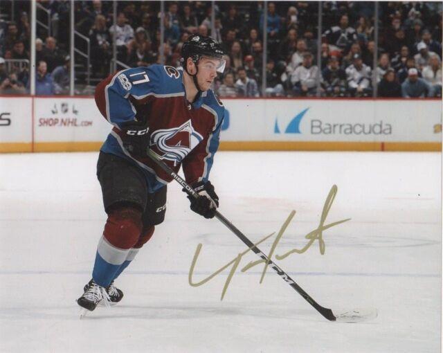 Colorado Avalanche Tyson Jost Signed Autographed 8x10 NHL Photo COA #2