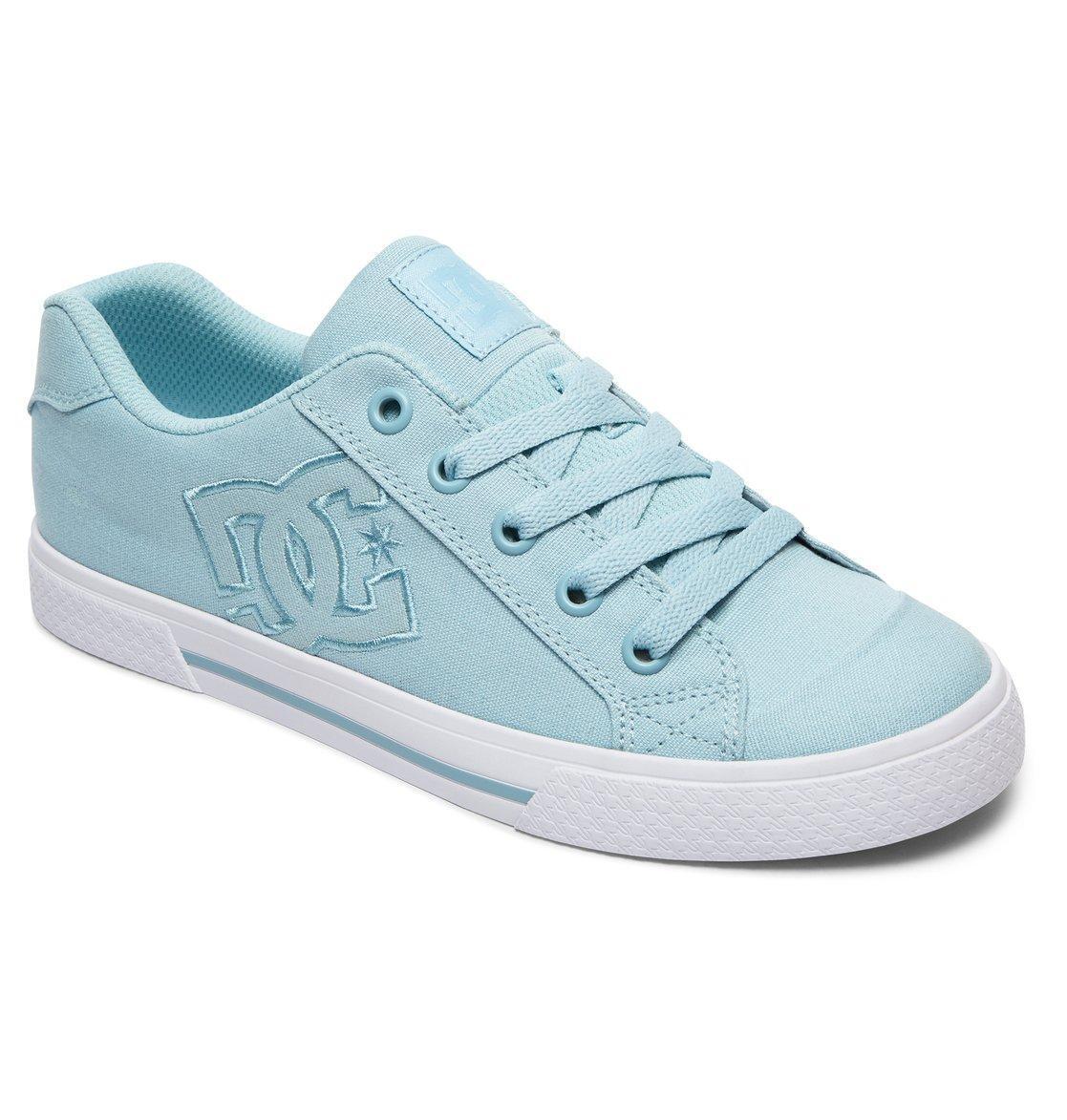 DC Shoes Scarpe da ginnastica da CHELSEA donna. NUOVO IN SCATOLA CHELSEA da TX Skate Blu Lacci Scarpe 8S 26 LTB 3c1a47