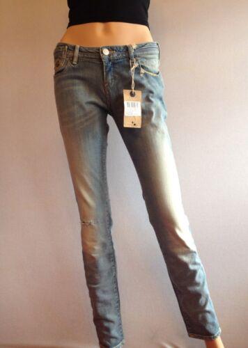 L32 110 Taglia Blue £ W28 Knee 10 Skinny Ff25 Scotch Jeans Rip Rrp Maison 8qS7xZw