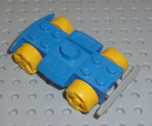 racerbase LEGO BLUE x 1 VB81 Base 4 x 6 Racer Base w/ Wheels VEHICLE