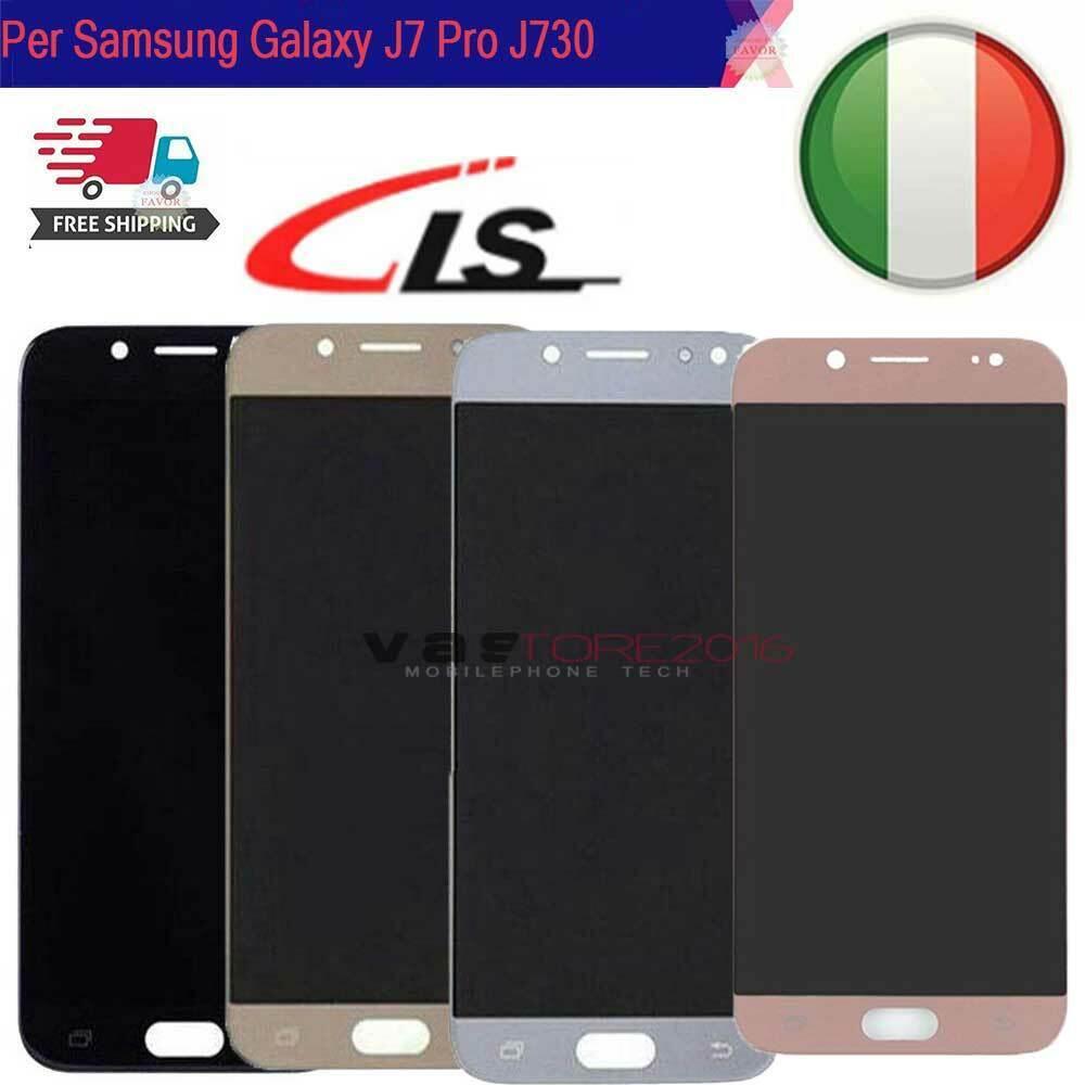 Samsung Galaxy: DISPLAY LCD PER SAMSUNG GALAXY J7 Pro 2017 J730 J730FN SM-J730F/DS SCHERMO VETRO