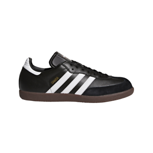Adidas-Men-Shoes-Lifestyle-Samba-Leather-Casual-Sneakers-Suede-Black-019000-New