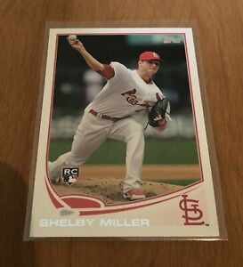 2013-Topps-Shelby-Miller-Rookie-Card-305-St-Louis-Cardinals