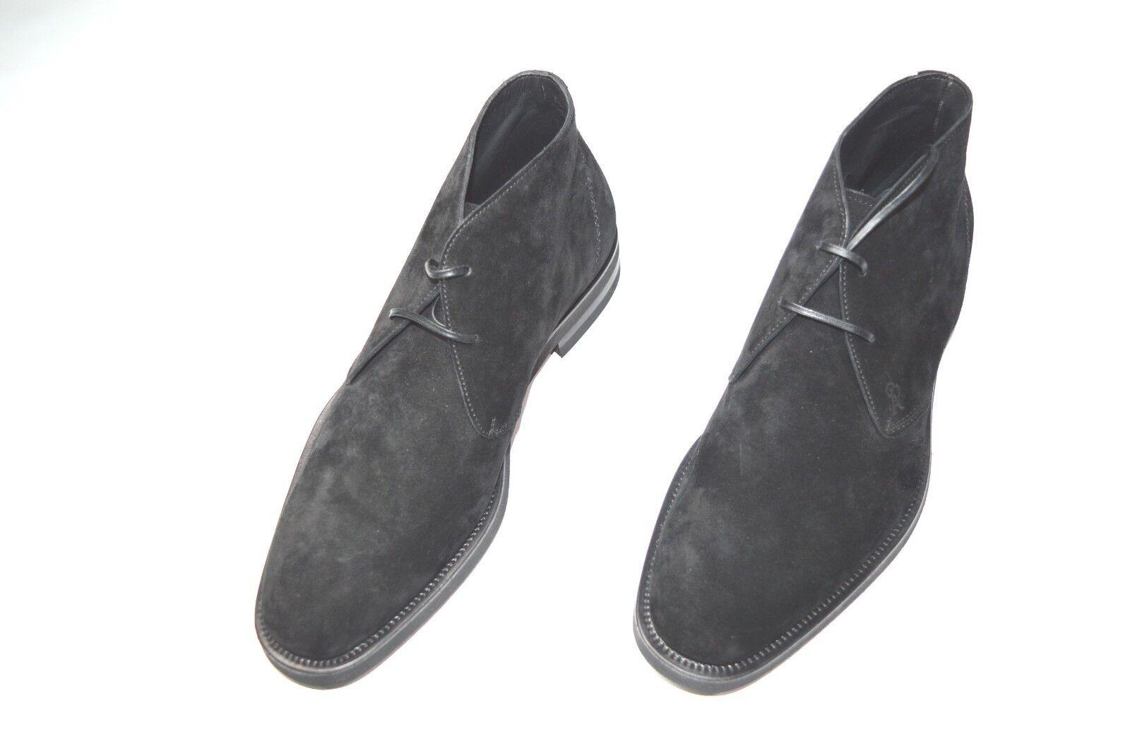 Nuevo De Lujo Cuero STEFANO RICCI Zapatos Talla nos 8 (COD A208)