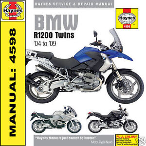 BMW-R1200-GS-R-RT-ST-Twins-2004-2009-Haynes-Manual-NEW