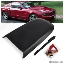 Fit For Ford Mustang Gt V8 2005 09 Black Front Racing Style Air Vent Hood Scoop Fits Mustang