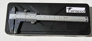 CALIBRO A CORSOIO IN METALLO 100 mm CON CUSTODIA IN PLASTICA misuratore 512