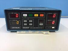 Critikon 1846 Sx Dinamap Vital Signs Monitor Powers Up No Other Testing