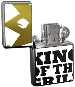 ACCENDINO BENZINA tempesta Accendino stampati GRILL King  </span>