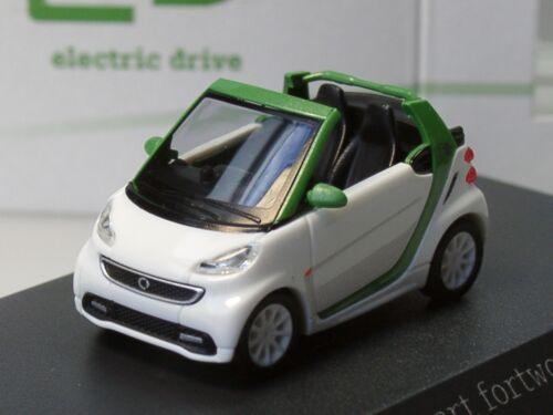 Busch Smart Fortwo Cabrio e electric drive PC 178-1:87 drive