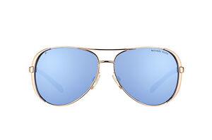 598243766e9 NWT Michael Kors Sunglasses MK 5004 100322 Polarized Gold Purple NOT ...