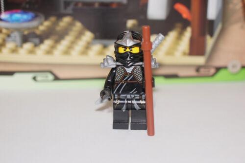 Katana /& shoulder armor New LEGO Ninjago Cole ZX w// staff