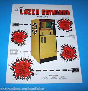 LAZER-COMMAND-By-MEADOWS-1976-ORIGINAL-VIDEO-ARCADE-GAME-SALES-FLYER-BROCHURE