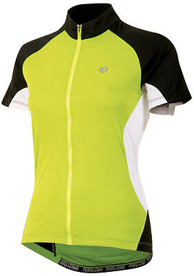 Lime Pearl Izumi Women's Symphony Bicycle Cycling Bike Jersey Small