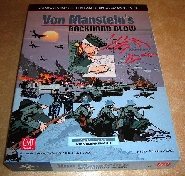 GMT Von Manstein's revers coup; bonus  extra SIDA, tableaux, Review, solitaire