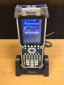 Intermec-CK60-CK61A813130E0100-Escaner-De-Codigo-De-Barras-Con-Base-Sin-Bateria