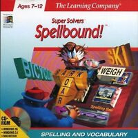 Spellbound Pc Games Windows 10 8 7 Vista Xp Computer Kid Spelling Tutor Learning