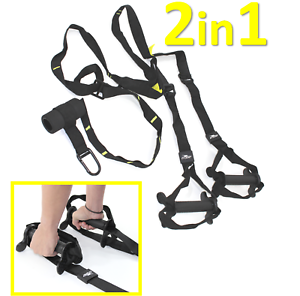SCHLINGENTRAINER-mit-Tueranker-FULL-BODY-WORKOUT-Sling-Trainer-Suspension-2in1