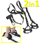 SCHLINGENTRAINER-mit-Tueranker-FULL-BODY-WORKOUT-Sling-Trainer-Suspension-2in1 Indexbild 1