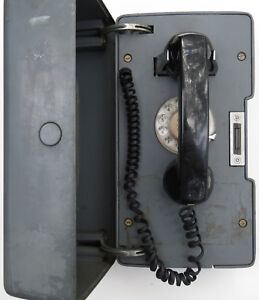 Vintage Western Electric Bell System Central Office Bldg Access Call Box Phone