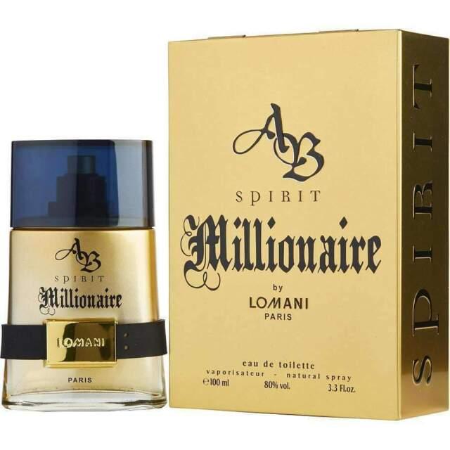 Lomani Ab Spirit Millionaire 100ml EDT Spray Men