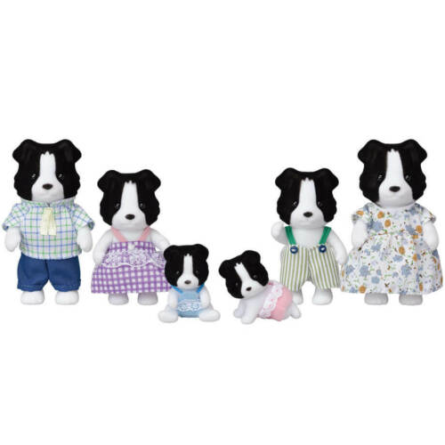 Sylvanian Families 35th Anniversary BORDER COLLIE FAMILY Calico Critters Japan