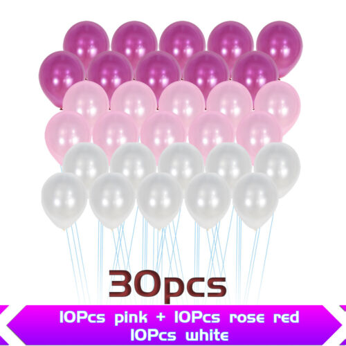 30pcs 10inch Latex Balloon For Wedding Birthday Baby Shower Party Decor Supplies